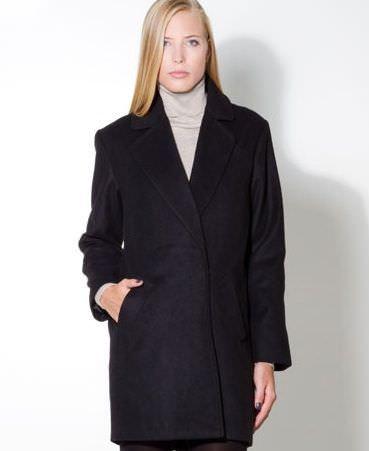 abrigo masculino de stradivarius