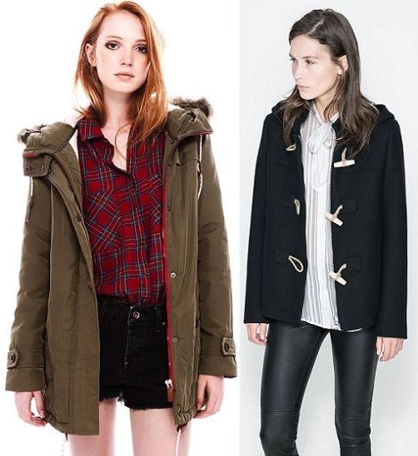 abrigo pata de gallo de moda otoño 2013