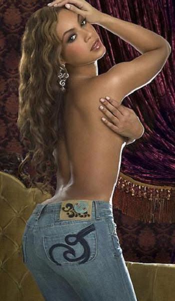 Beyonce vaqueros jeans