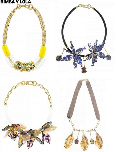 collares de moda primavera verano 2014