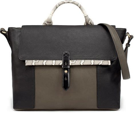 bolso tricombinado de Zara