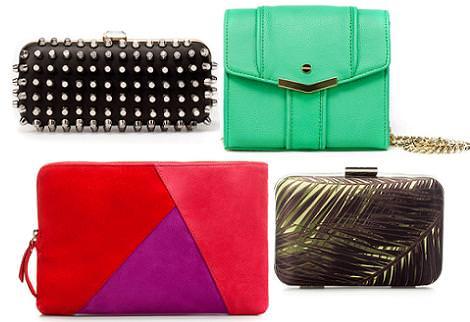 Bolsos de fiesta 2012 de Zara