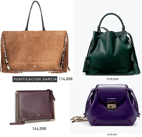 los bolsos de moda otoño invierno 2015
