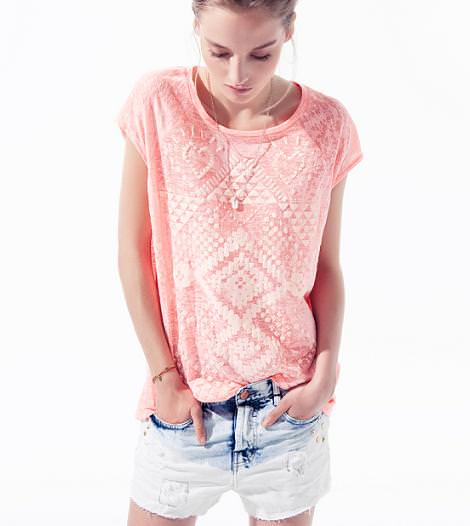 Camisetas de moda primavera verano 2012