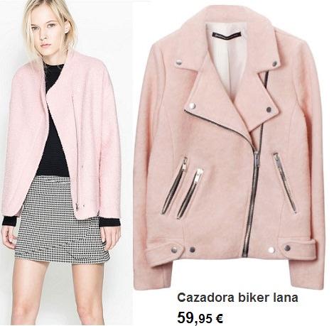 chaquetas y cazadoras de invierno rosas para vestir a la última