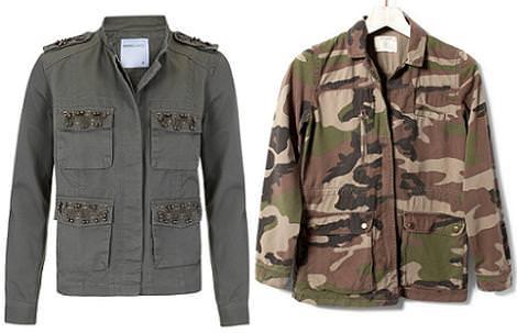 Moda otoño invierno 2012 2013 : chaquetas