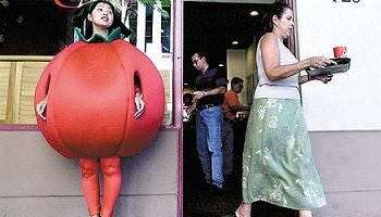disfraz tomate