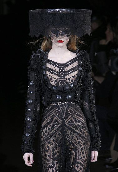 Givenchy, haute couture spring summer 2010