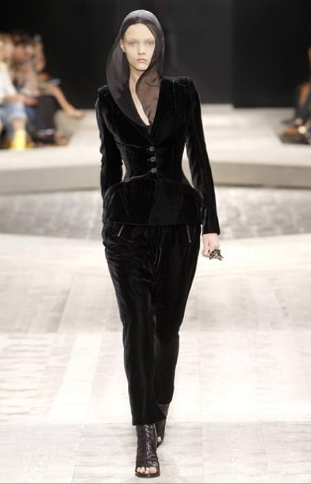 Givenchy, alta costura, moda otoño invierno 2009 2010