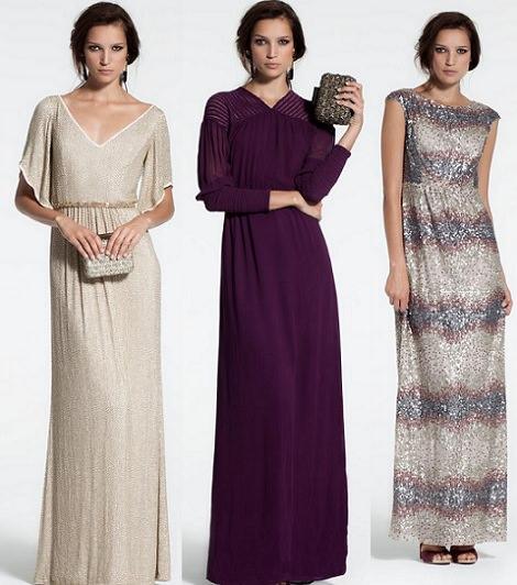 vestidos largoshoss intropia otoño invierno 2014 2015