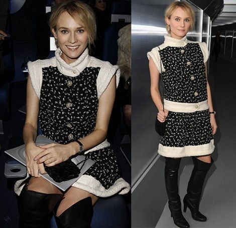it girls en la paris fashion week diane kruger
