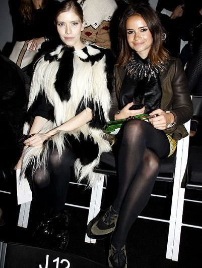 it girls en la paris fashion week miroslava duma