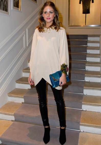 Olivia Palermo en la Paris Fashion Week con Dior