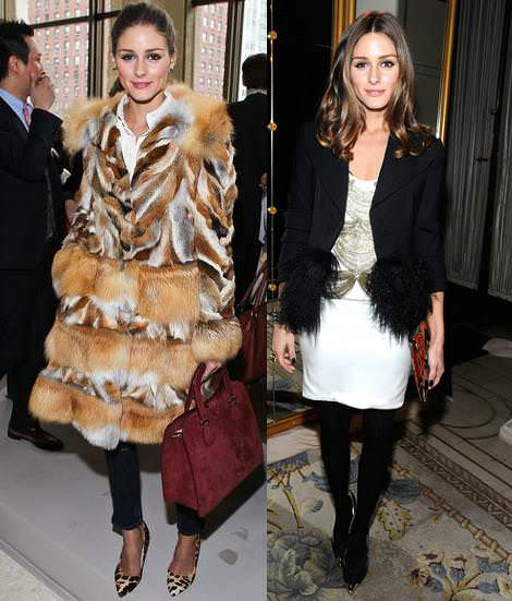 Olivia Palermo y su estilo en la New York Fashion Week