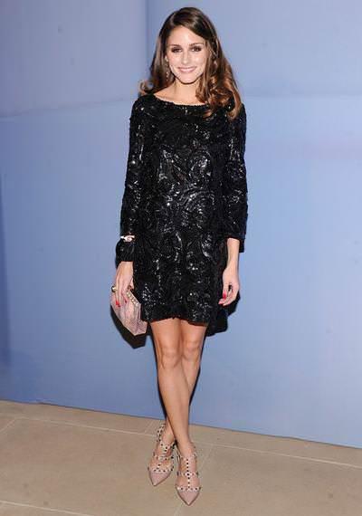 La it girl Olivia Palermo y los vestidos de lentejuelas