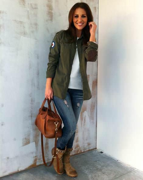 Paula echevarría y las tendencias de moda