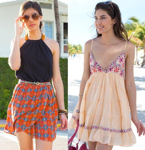faldas de la redoute verano 2014
