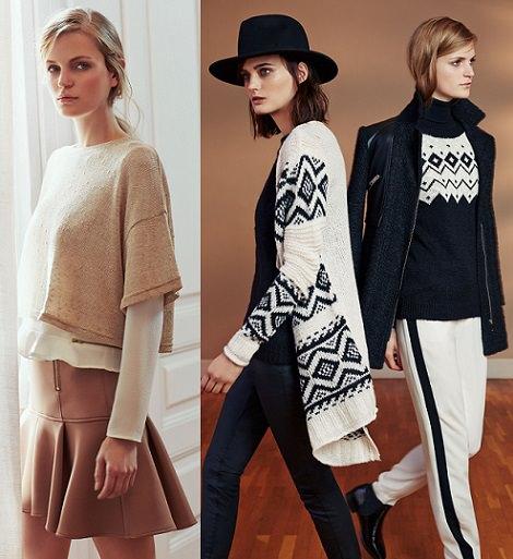 faldas de Lefties mujer invierno 2014 2015