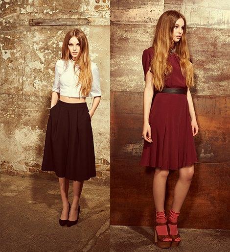 faldas miss selfridge otoño invierno 2014 2015