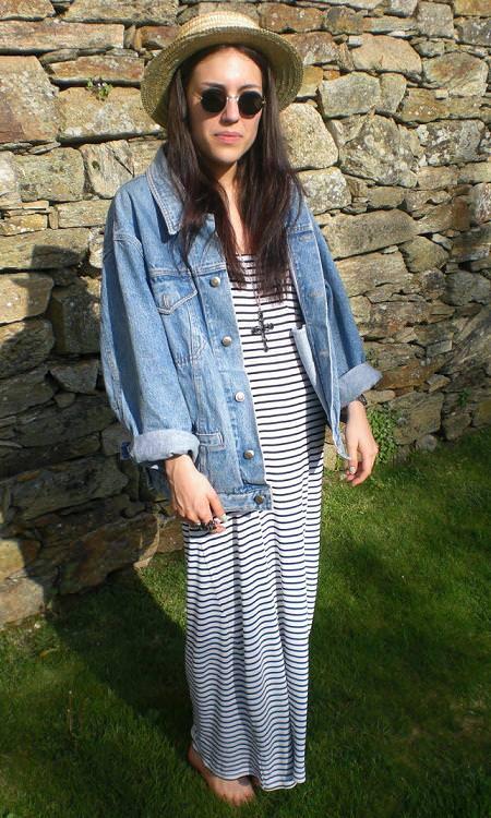 Vestidos y faldas largas, primavera 2010