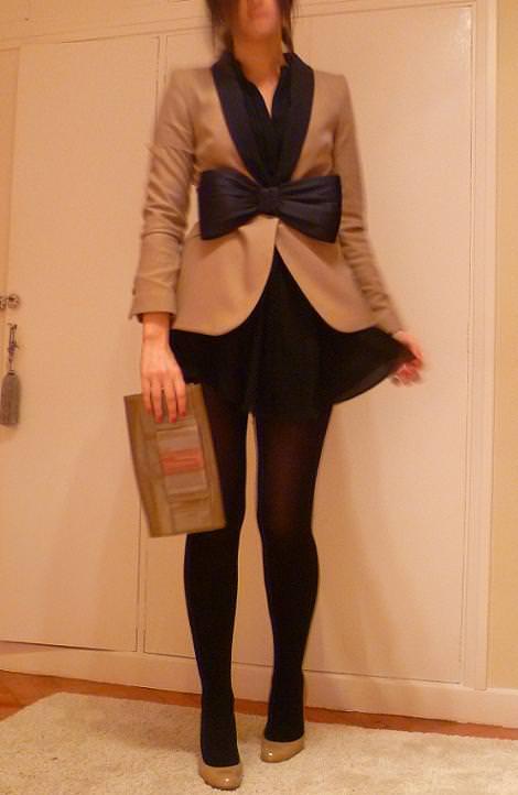 Cinturón lazo de fiesta, de H&M