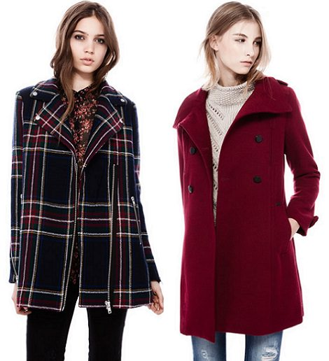 abrigos de pull and bear invierno 2014