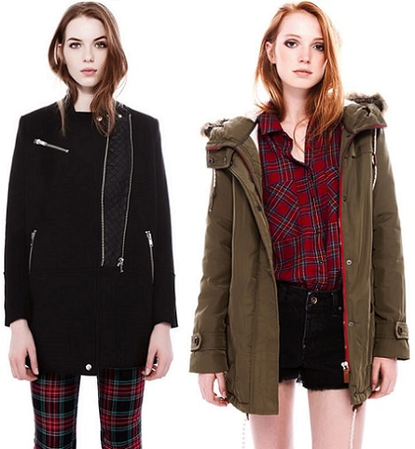 parka de pull and bear invierno 2014