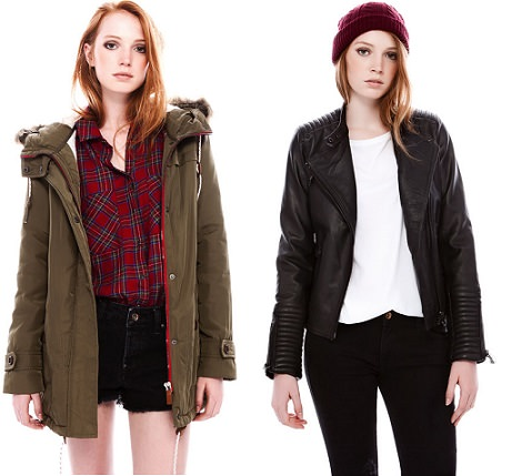 Chaquetas mujer pull and bear