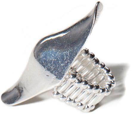 bisuteria de pull and bear primavera 2012 anillo plateado