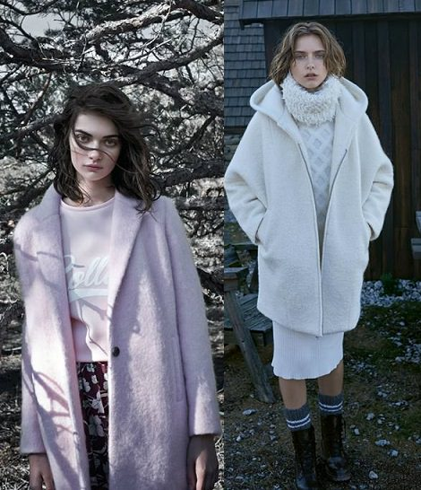 abrigos de pull and bear otoño invierno 2014 2015