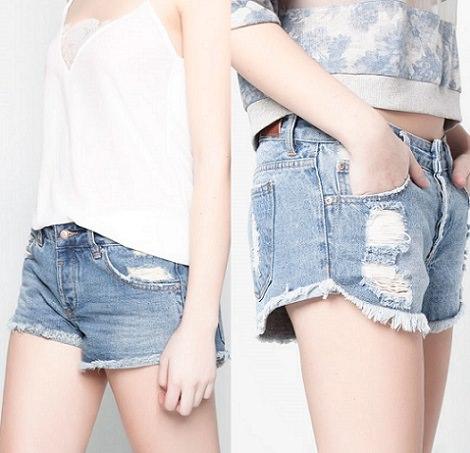 shorts de pull and bear verano 2014