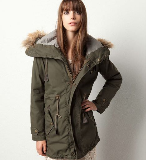parka de pull and bear