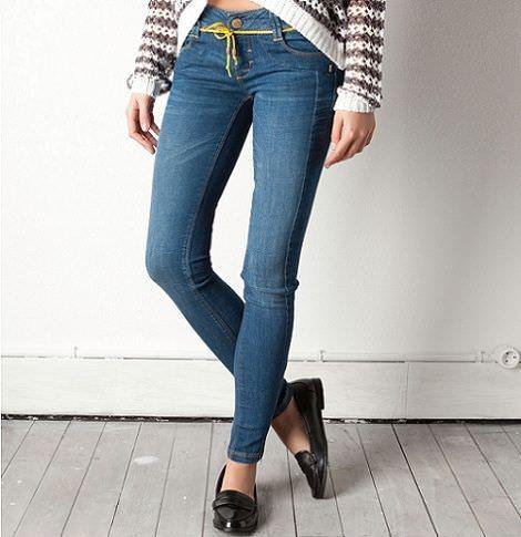 jeans de pull and bear para la primavera