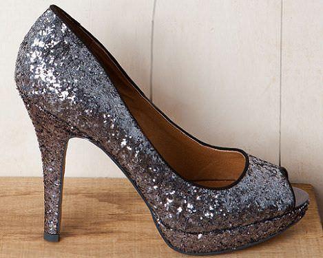 zapatos con glitter de pull and bear con descuento