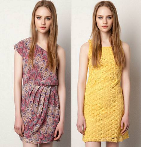 Vestidos Pull and Bear primavera 2012