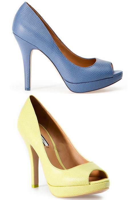 Zapatos Pull and Bear primavera 2012 peep toe