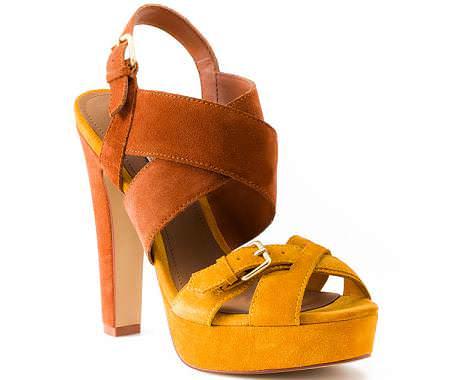 Zapatos Pull and Bear primavera 2012 sandalias
