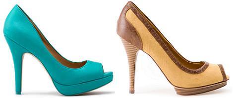 Zapatos de Pull and Bear primavera verano 2012: Peep toe