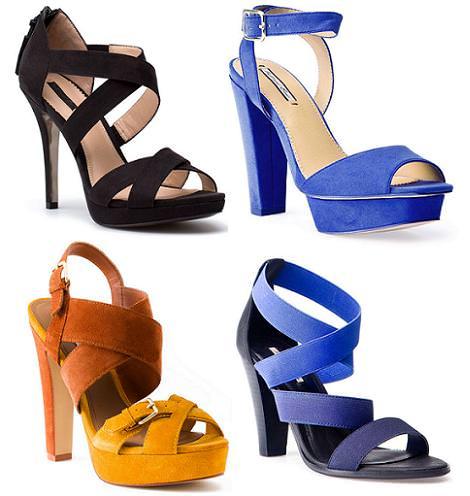 Zapatos de Pull and Bear primavera verano 2012: Sandalias