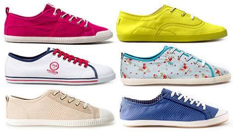 Zapatos de Pull and Bear primavera verano 2012: Zapatillas