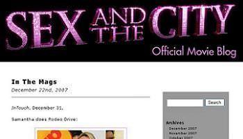 Sexo en Nueva York La película blog oficial