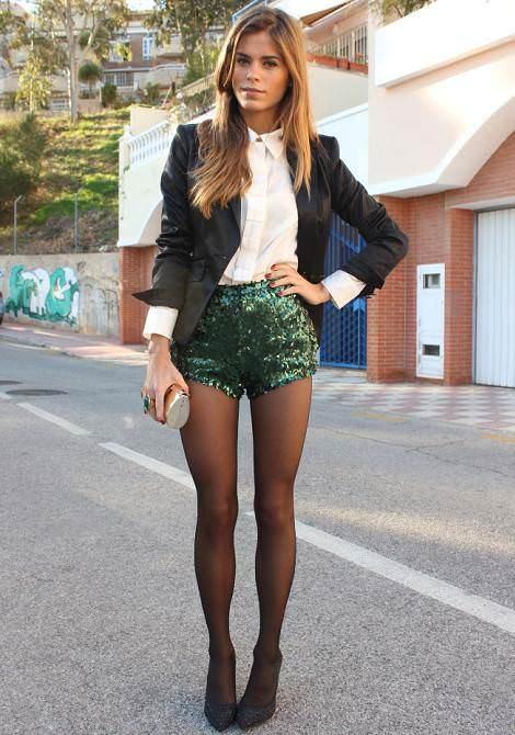 Looks de fiesta con shorts