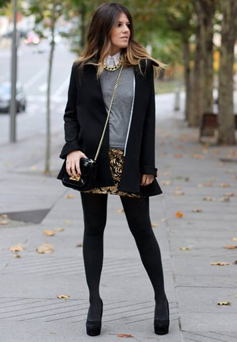 Moda en la calle invierno 2013 demujer moda for Moda premama invierno
