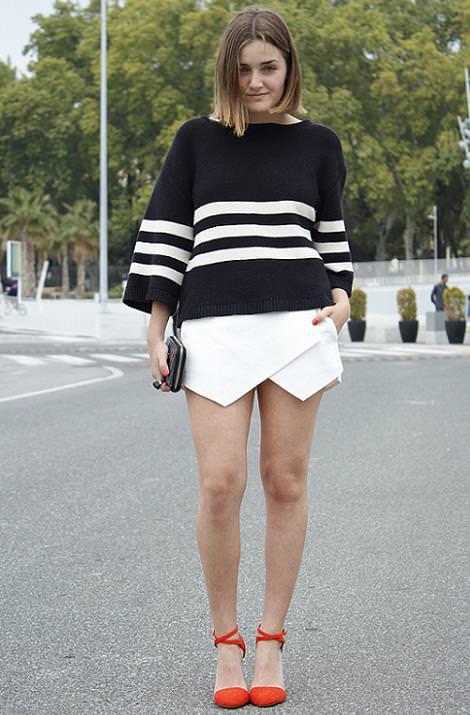 Moda en la calle primavera verano 2013 : street style, looks y ropa