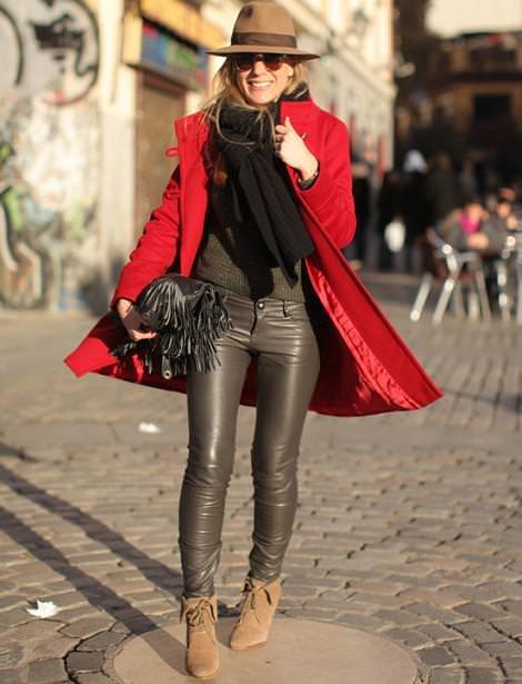 Street style con las nuevas tendencias del invierno 2012