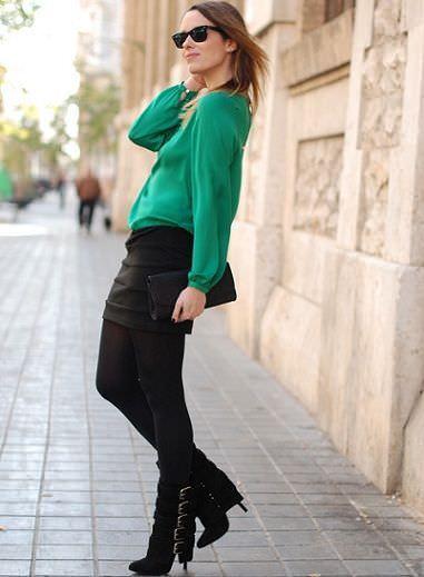 street style con verde
