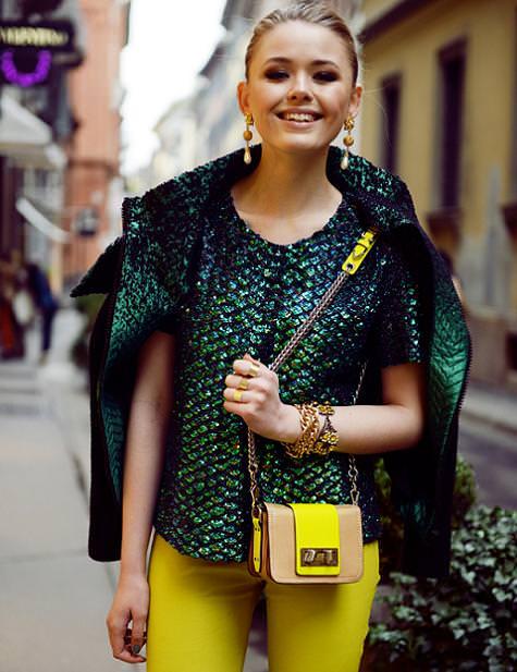 Looks y street style con la moda del invierno 2013