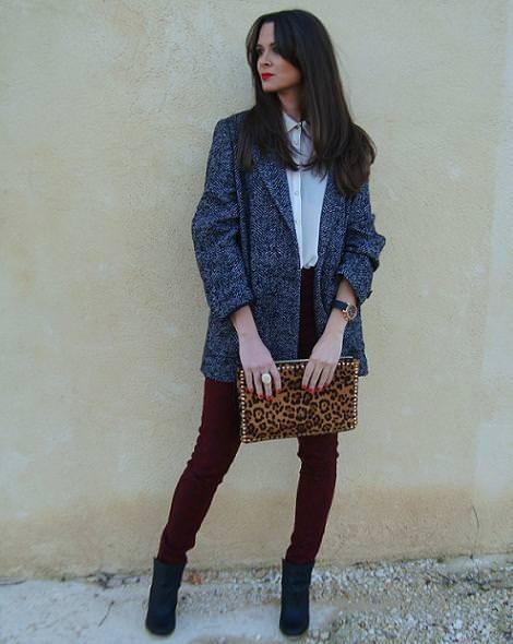 Street style otoño invierno 2012 2013 , moda de la calle