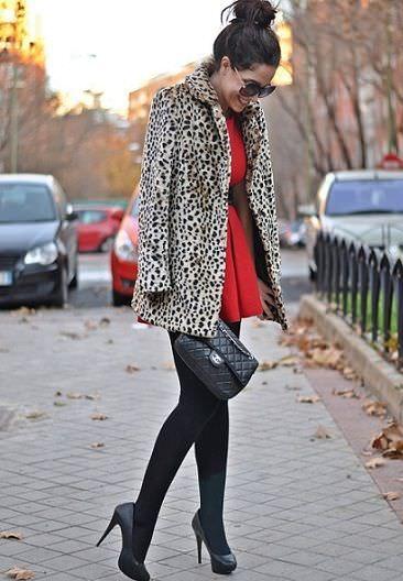 street style rebajas abrigo de Blanco