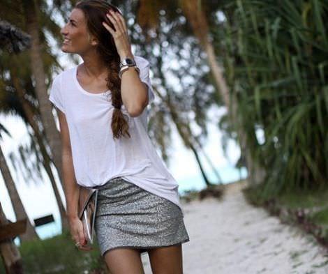 street style con ropa de rebajas